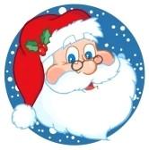 8284634-classic-santa-claus-face